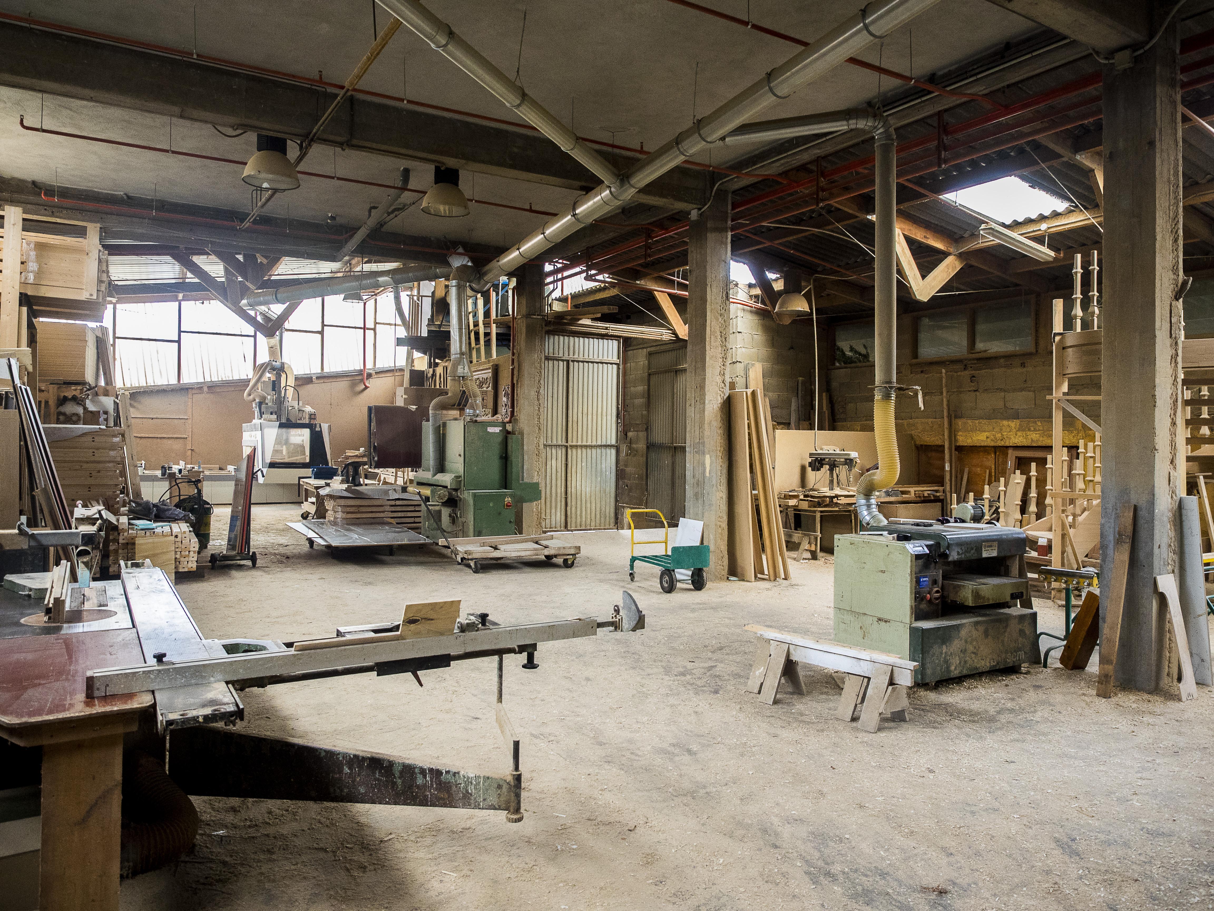 Carpintería Laíño - taller